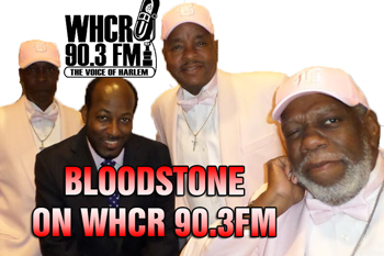 BloodstonE with Maurice THE VOICE Watts on WHCR 90.3FM