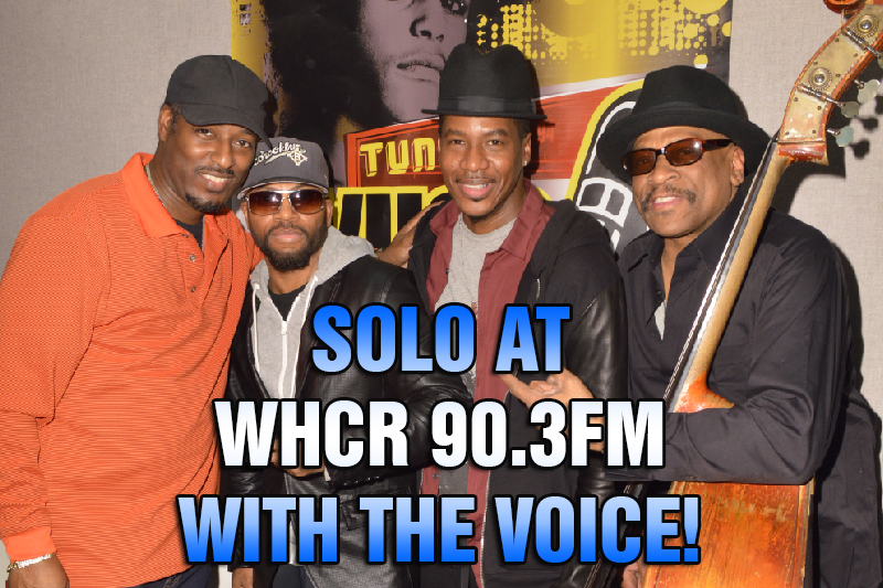 SOLO with Maurice THE VOICE Watts on WHCR 90.3FM