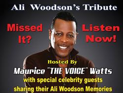 Ali Woodson's Tribute Podcast - Listen Now