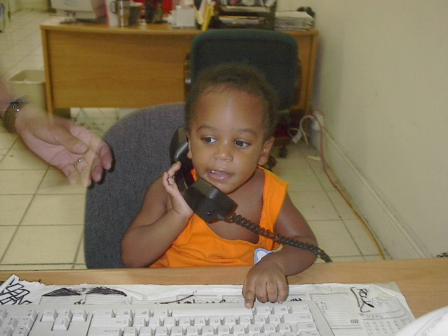 Click Here To see MJ hard at work.