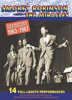 Smokey Robinson and The Miracles - The Definitive Performances DVD