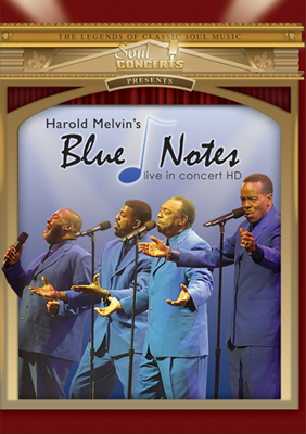 Harold Melvin's Blue Notes-Live In Concert DVD