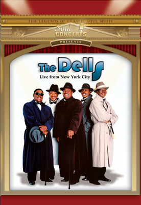 The Dells-Live From New York City DVD