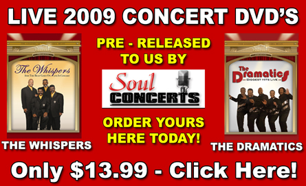 Click Here For Soul Concert DVD's