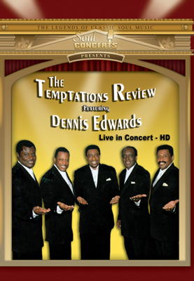The Temptations Review-Live In Concert DVD