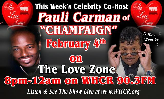 with Celebrity co-host Pauli Carman