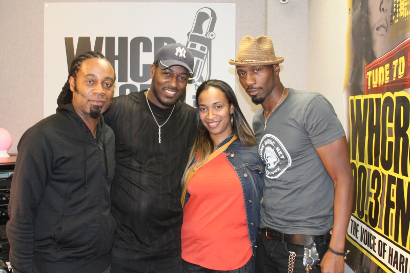 MAURICE WATTS & LEON IN STUDIO PHOTO BY RONNIE WRIGHT  (104)