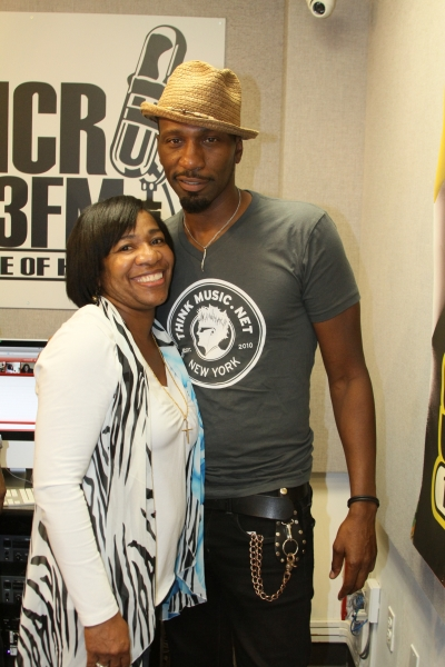 MAURICE WATTS & LEON IN STUDIO PHOTO BY RONNIE WRIGHT  (116)