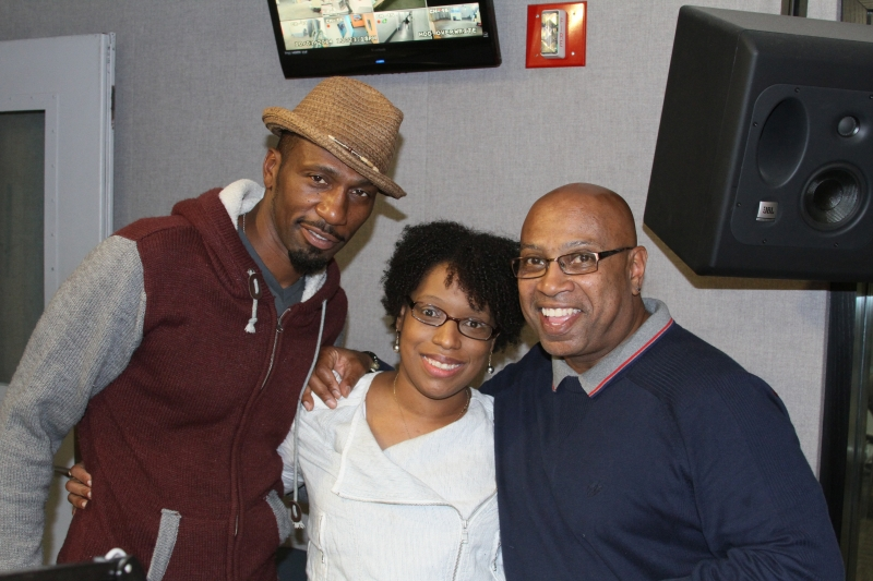 MAURICE WATTS & LEON IN STUDIO PHOTO BY RONNIE WRIGHT  (133)