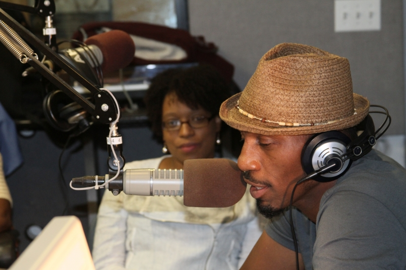 MAURICE WATTS & LEON IN STUDIO PHOTO BY RONNIE WRIGHT  (70)