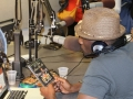 MAURICE WATTS & LEON IN STUDIO PHOTO BY RONNIE WRIGHT  (80)