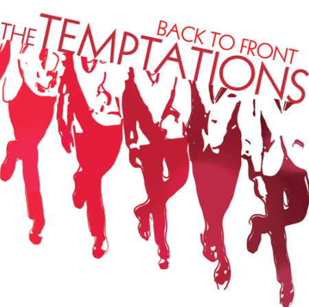 Temptations - BAck To Front - CD Cover